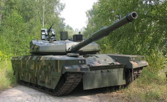 PT-16 prototype MBT from Bumar Labedy. Bumar Labedy.