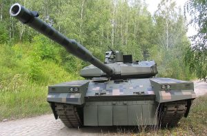 PT 16 prototype MBT from Bumar Labedy. Bumar Labedy picture.