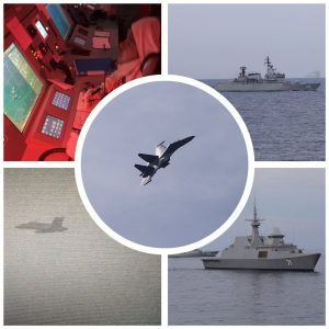 A combo of picture from KD Kedah social media feed on Bersama Lima 16.