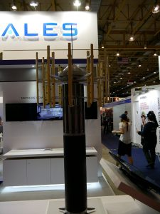 Thales Compact Flash sonar which had been selected for the PN Wildcat helicopters.