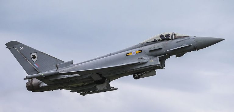 Image Shows:    Typhoon Aircraft from RAF Lossiemouth in Scotland are taking part in Exercise Bersama Lima 16 and with be based out of RMAF Butterworth in Malaysia during their stay.  Ex Bersama Lima 16 is an annual Five Powers Defence Arrangement(FPDA) Maritime/Air Field Training Exercise and Joint Post Exercise conducted to enhance the operability and mutual co-operation among the FPDA nations. The exercise is sponsored on a rotational basis between the Armed Forces of Malaysia and Republic of Singapore and will take place between the period of 4-21 October 2016.