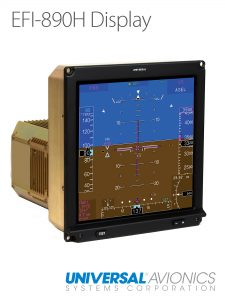 One of the displays to be install on the Nuri by Heli-One.