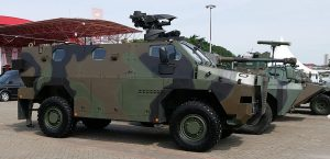 Sanca MRAP. The Sanca is the Thales Bushmaster MRAP built in Indonesia under colloboration with PT Pindad, a state owned firm.