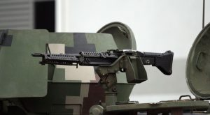 The sole M60 on the 14th RMR KIFV.