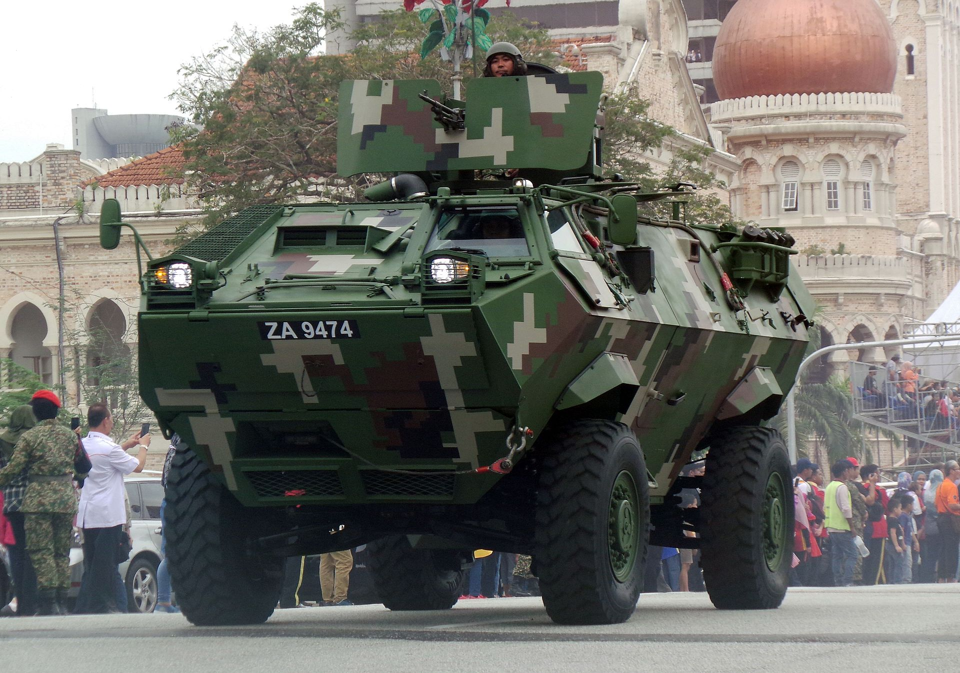 The N-pattern Condor, ZA 9474 which took part in the recent Malaysia's Independence Day parade | Malaysian Defence